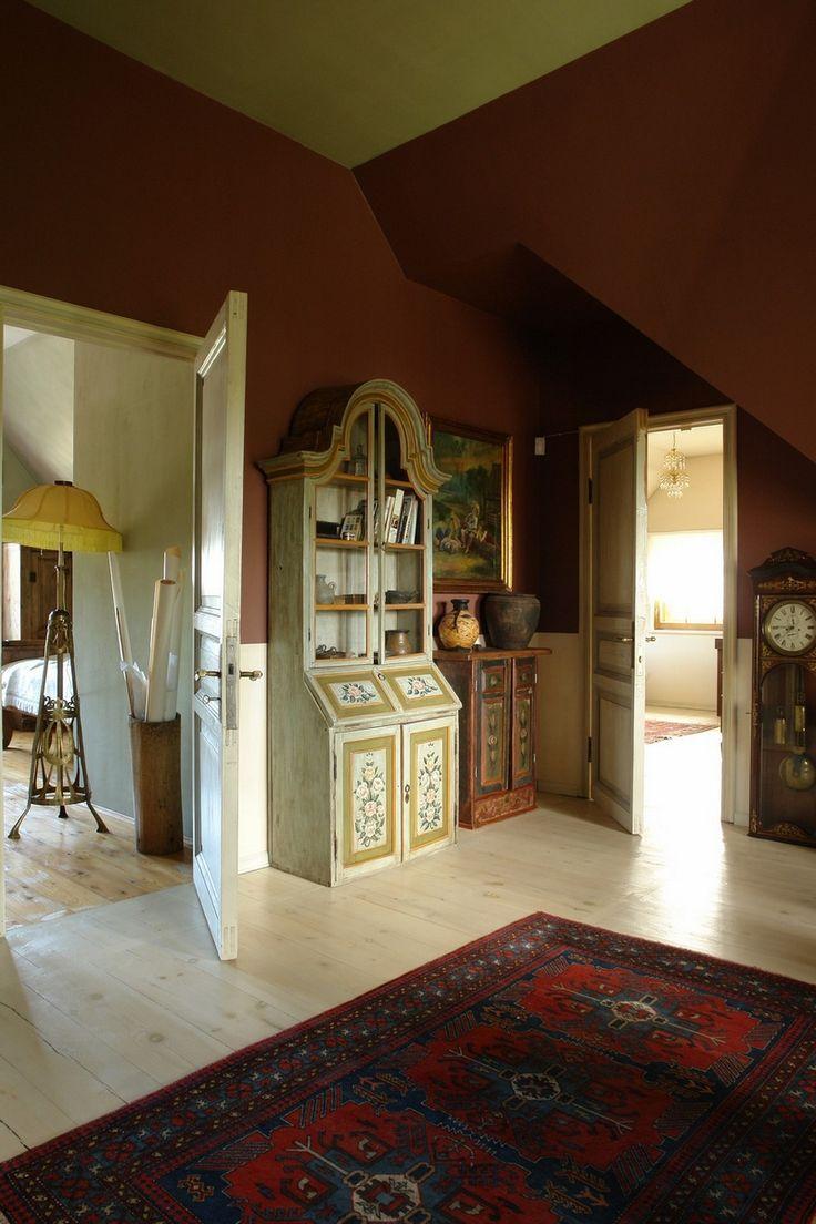 Русский стиль кантри в интерьере дома в Ленинградской области 3
