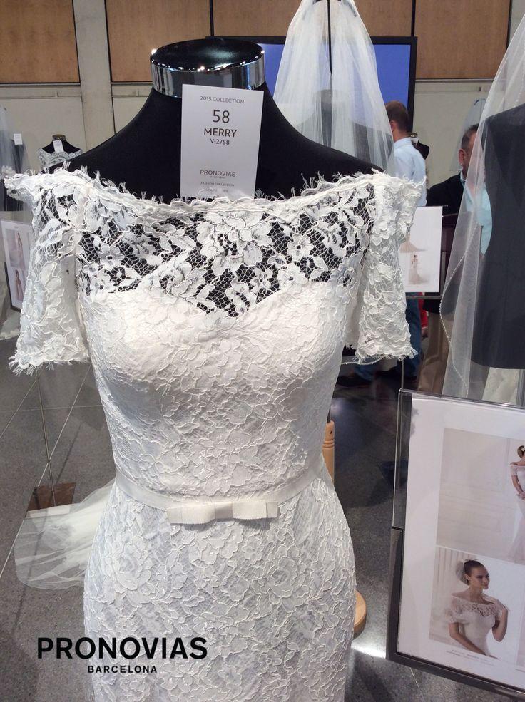 Merry esküvői ruha by Pronovias 2015 http://lamariee.hu/eskuvoi-ruha/pronovias/merry