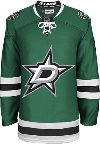 Dallas Stars Official Home Reebok EDGE Authentic NHL Hockey Jersey (Made In Canada)