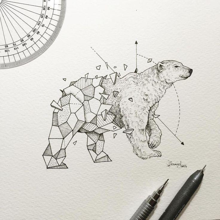 Kerby Rosanes, illustrateur basé aux Philippines, a la patte artistique lorsqu'il s'agit d'animaux géométriques. Le jeune dessinateur de 24 ans n...