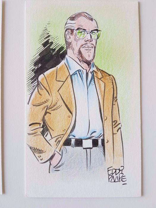 "Paape, Eddy -  original colour drawing - ""Luc Orient"" - W.B"