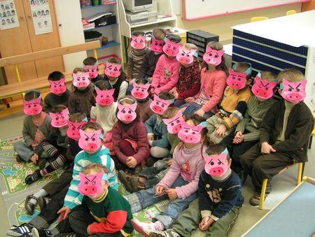 masques cochons et idées maison
