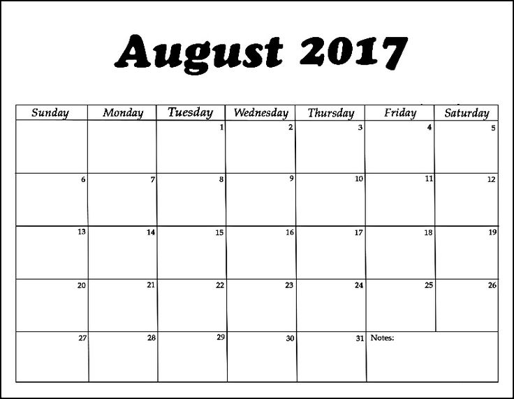 Best Calendar August  Images On   Free Stencils