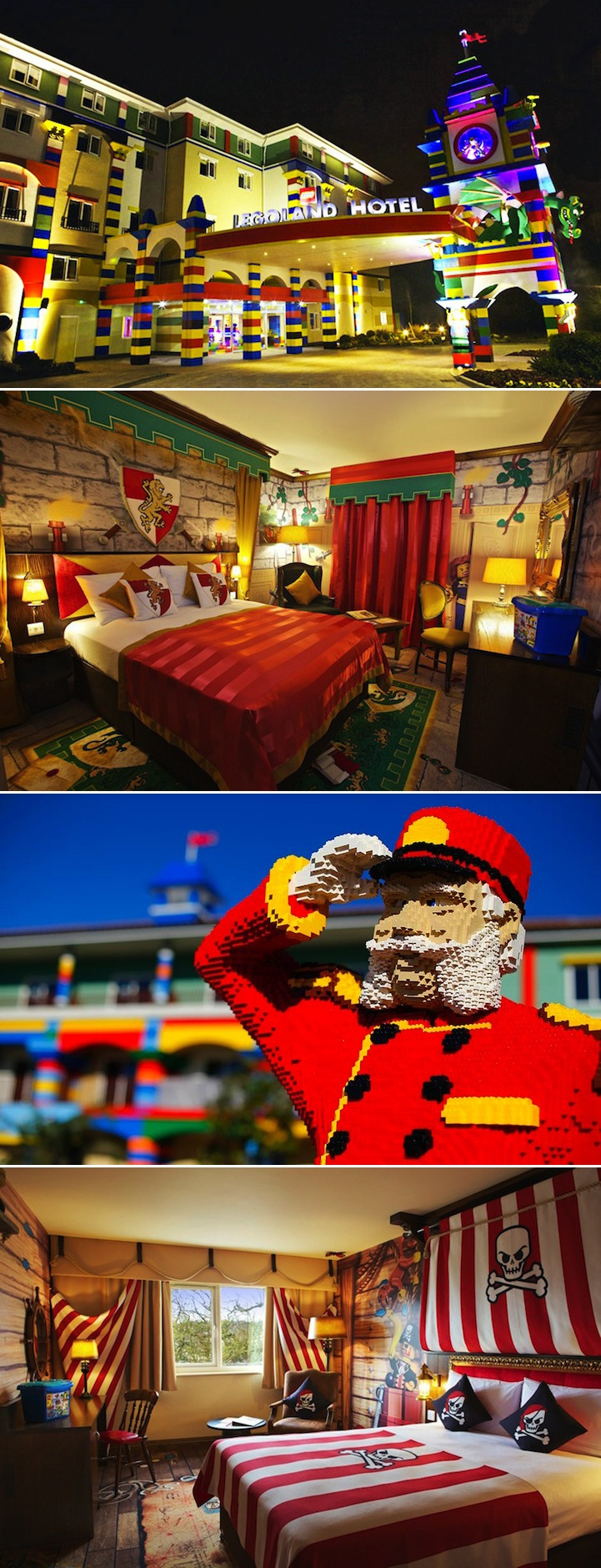 Real Life LEGO Hotel is Every Kidu0027s