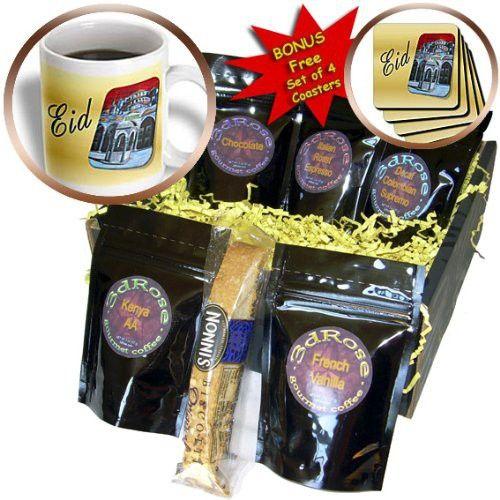 Taiche - Greeting Card - Eid - Eid- islam, celebrate, blessing, muslim, ramadan, mubarak, eid, eid al adha, feast of sacrifice - Coffee Gift Baskets - Coffee Gift Basket (cgb_78700_1)