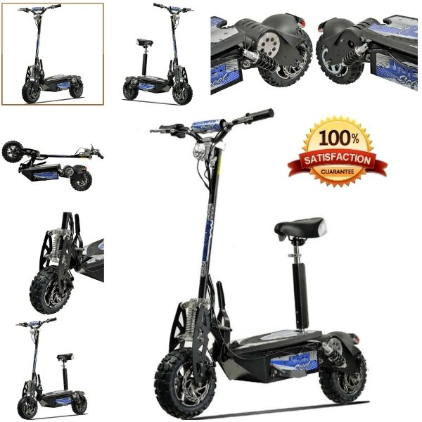 The Best Hobby 1600w 48v Adult Electric Foldable Scooter By Evo Powerboards  Cutting through the clutter of cheap scooters, comes the superior range of The Best Hobby 1600w 48v Adult Electric Foldable Scooter , formerly Evo Powerboards from Puz...