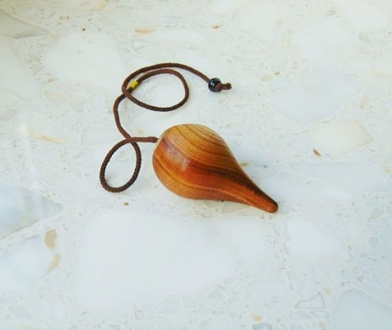 Wooden pendulum dowsing pendulum pendulum wood pendulum