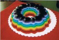 Rainbow jello mold--I love all things rainbow and jello. Well, I don't like chunks in my jello.