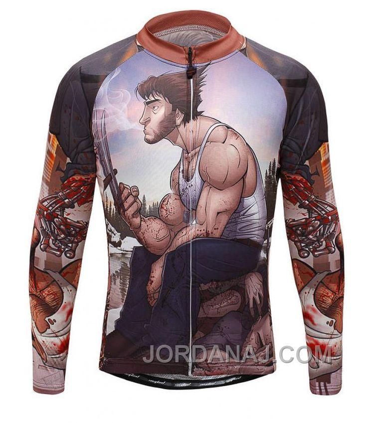 http://www.jordanaj.com/xmen-origins-wolverine-cartoon-brown-cycling-long-sleeve-jersey-top.html X-MEN ORIGINS WOLVERINE CARTOON BROWN CYCLING LONG SLEEVE JERSEY TOP Only $68.00 , Free Shipping!