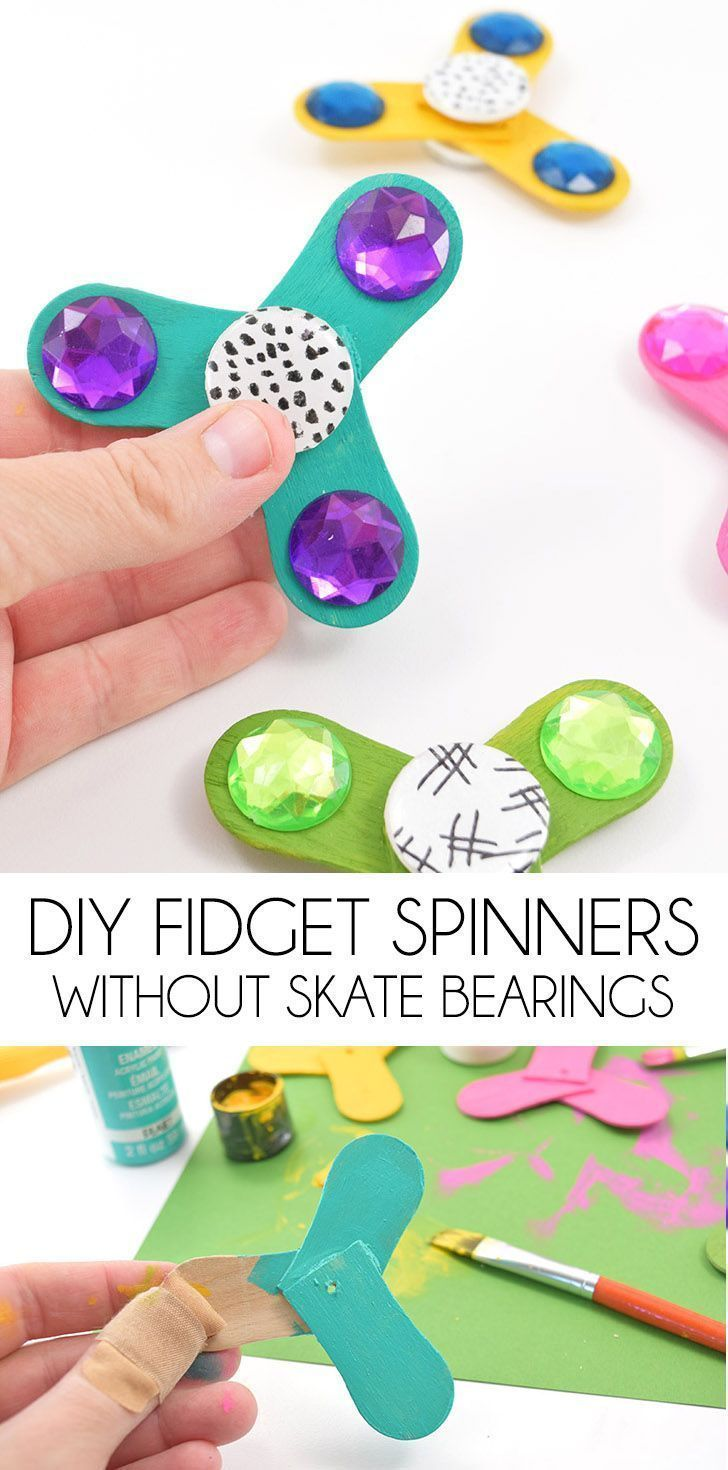 Diy Fidget Spinner Without Skate Bearings Dreamalittlebigger Com