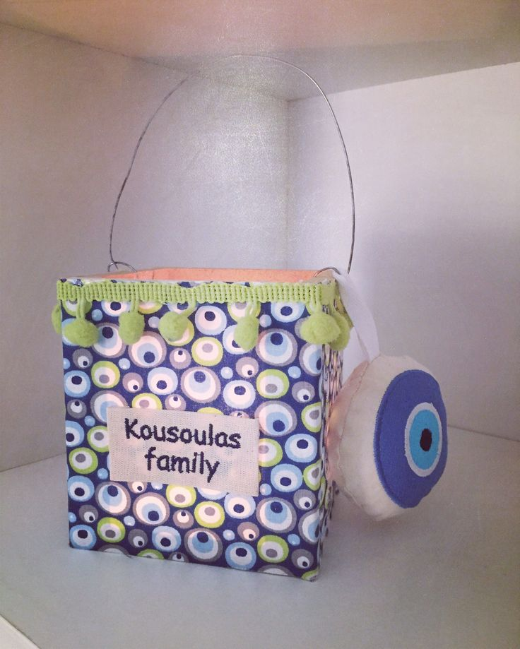 Personalized Easter lanterns by Cotton Prince! www.cottonprince.gr