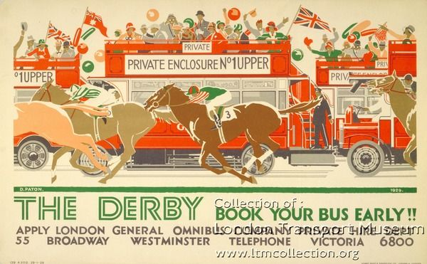 The Derby ~ Dorothy Paton