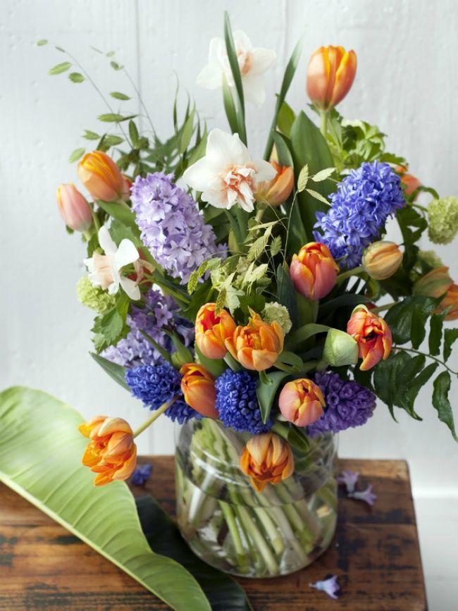 Frühlingshafter Tulpenstrauß! #tollwasblumenmachen
