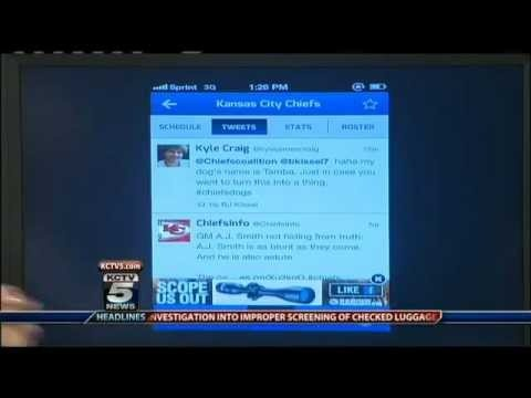 "KCTV5 asked me to come on to share with Carolyn Long my ""Top 3 Favorite Sports Apps"" for Android and iPhone. Here is the interview and a hands-on demo of my top 3 apps: http://youtu.be/tSP88Qo76kc"