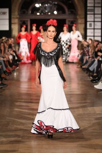 Traje de Flamenca - Monica-Mendez- - We-Love-Flamenco-2016