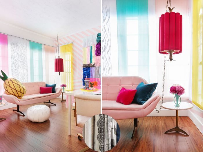 Curtain color ideas for cream walls and curtain color for ...