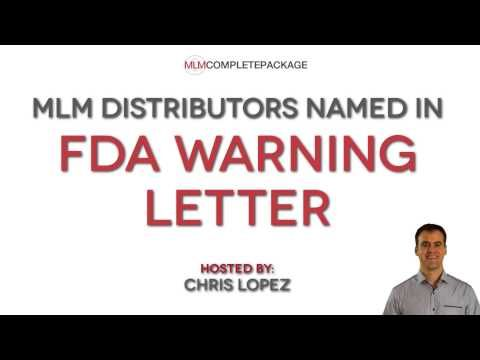 FDA Warning Letters sent to Young Living doTerra Donu0027t Be the - Warning Letter