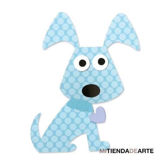 Troquel Bigz Perrito, cachorro para Sizzix - 657687