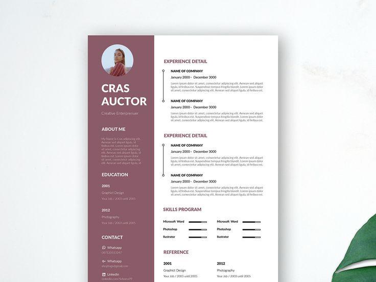 Free Editable Resume Template | Resume design template, Resume template free, Creative resume ...