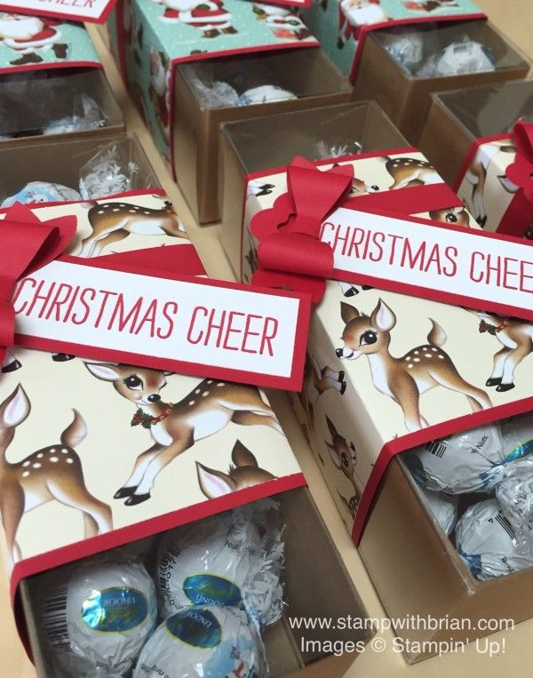 Cheer All Year, Home for Christmas Designer Series Paper, Bow Builder punch, Stampin' Up!, Brian King, Christmas gift-giving ideas: