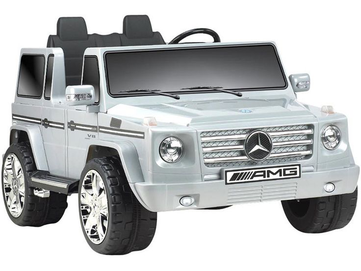 mercedes benz g55 amg wagon 2 seat ride on suv