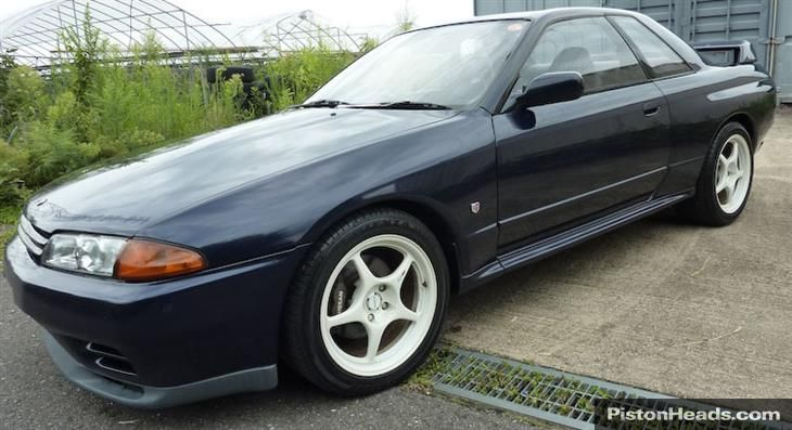 '89 Nissan Skyline R32 GT-R for sale in West Yorkshire from I.B.E Cars for £9,995.  Inbound from Japan, ETA 10 Jan 15.