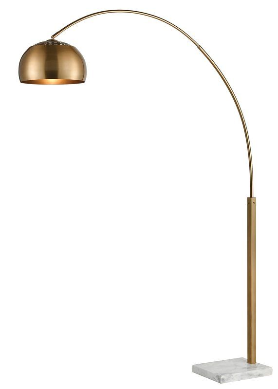 Sprague 77 Arched Floor Lamp Arched Floor Lamp Curved Floor Lamp Arc Lamp Living Room