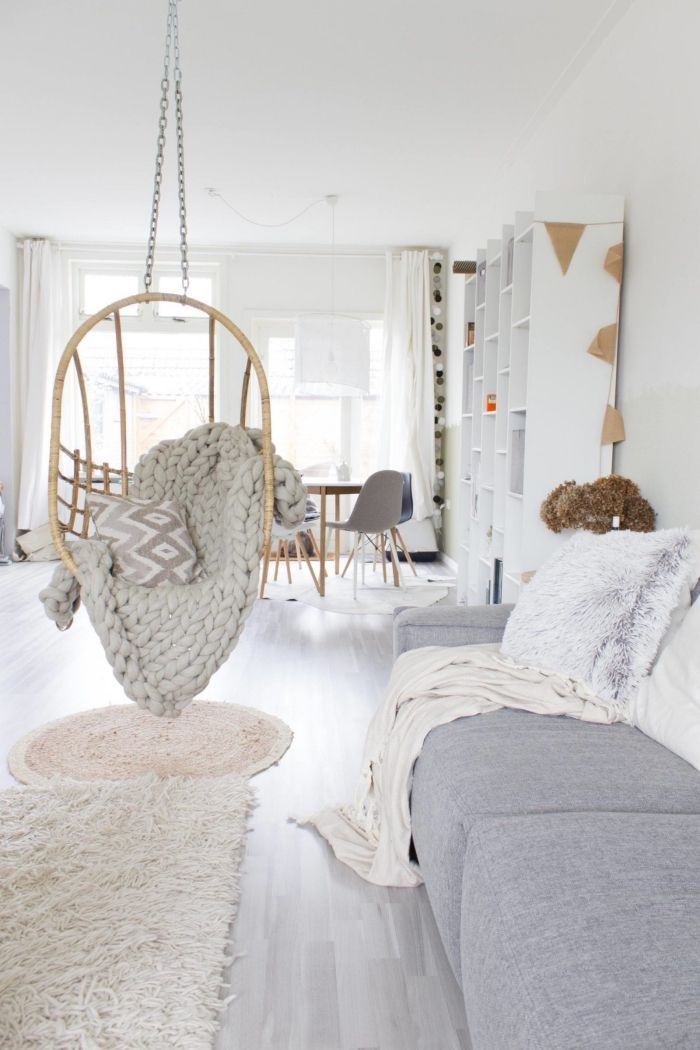 1001 Idees Deco Salon Cocooning De Style Hygge Living