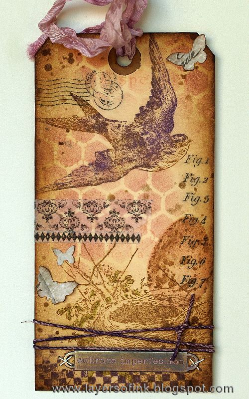 Layers of ink - Tim Holtz 12 tags of 2014 March http://layersofink.blogspot.com/2014/03/12-tags-of-2014-march.html