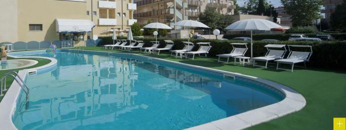 Hotel con piscina a Viserbella, il vero relax dell'hotel con centro benessere   Park Hotel Serena