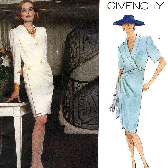 Vogue Paris Original 2661 by Givenchy Misses' Wrap Dress ...