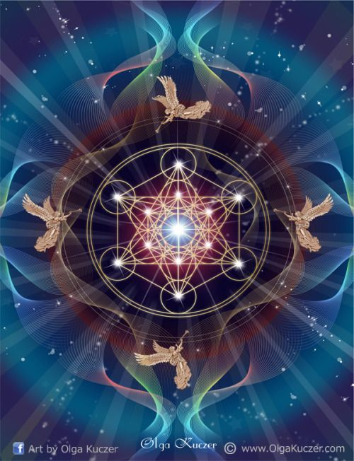 Metatron S Cube Contains Every Shape That Exists Within