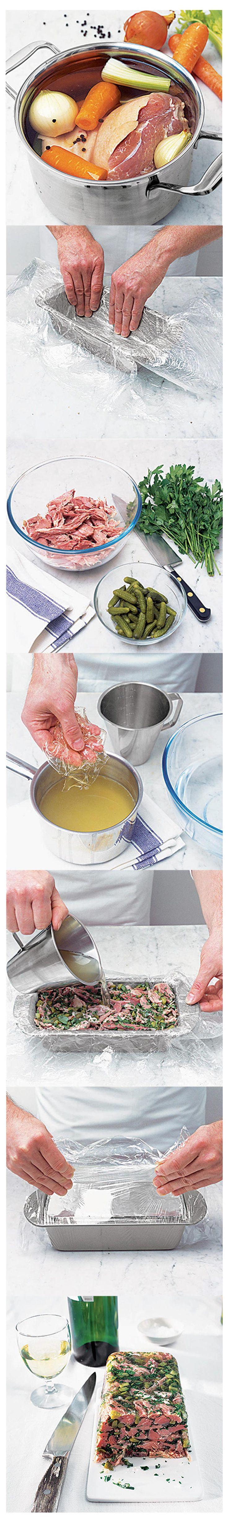 How to make ham hock terrine