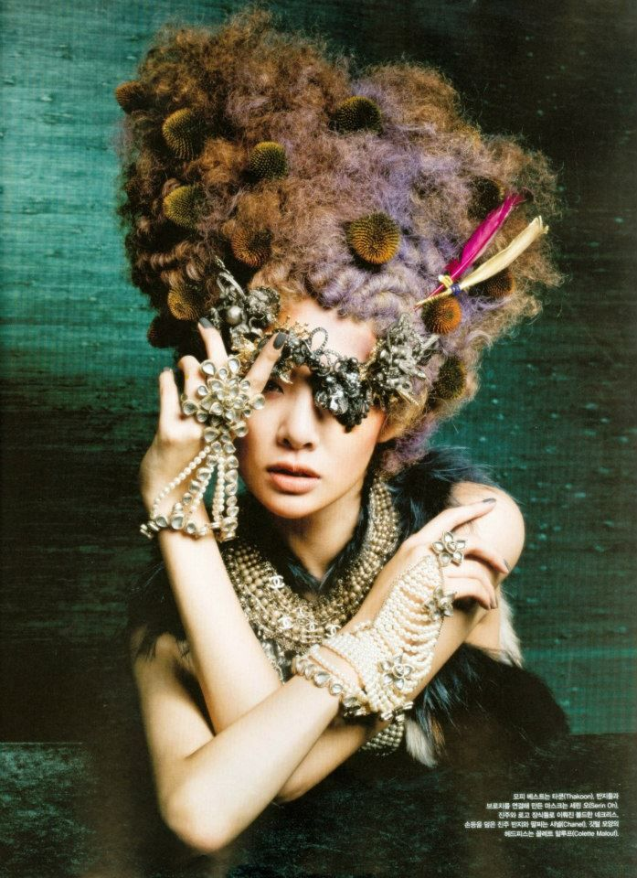 Serin Oh - on VOGUE Korea   September 2012