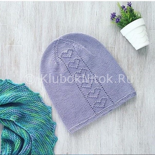 Две шапки от Elena Ildiz | Вязание для женщин | Вязание спицами и крючком. Схемы вязания.