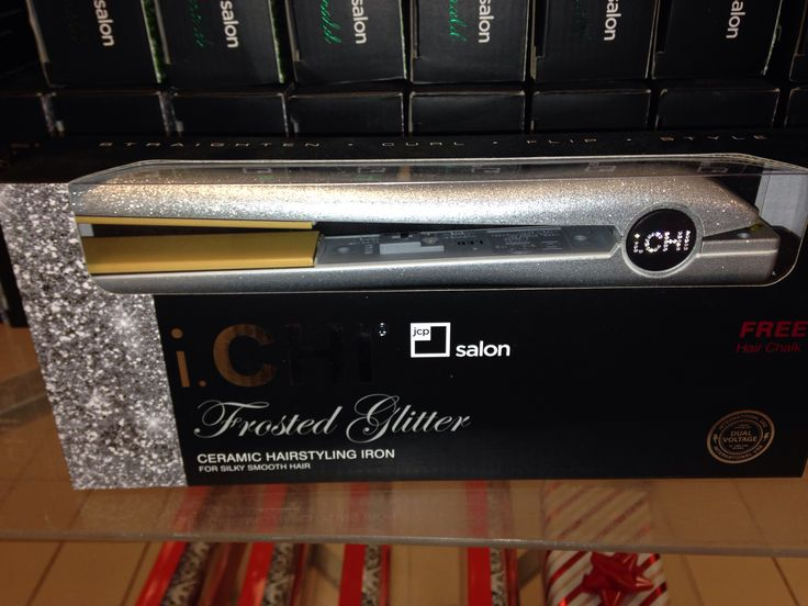 Love this sparkly CHI flat iron! My zebra print is aging it's time for a newbie!!