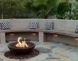 Image result for sandstone stone fire pit surround with seating