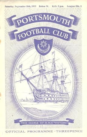 Collectsoccer.com Portsmouth Football Programmes