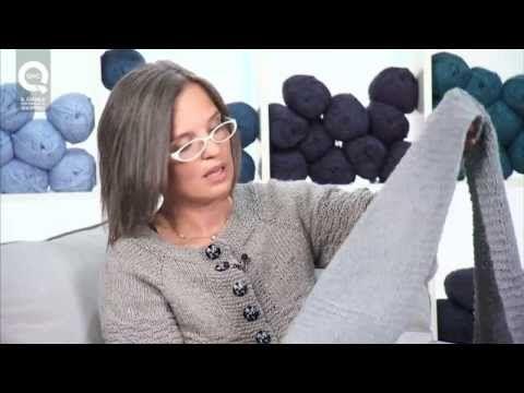 ▶ Lavora a maglia con Emma Fassio - Sciarpa semplice a legaccio - Parte 1 - YouTube
