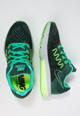 Nike Performance AIR ZOOM VOMERO 10 - Demping hardloopschoenen - menta/black/ghost green/voltage green - Zalando.nl