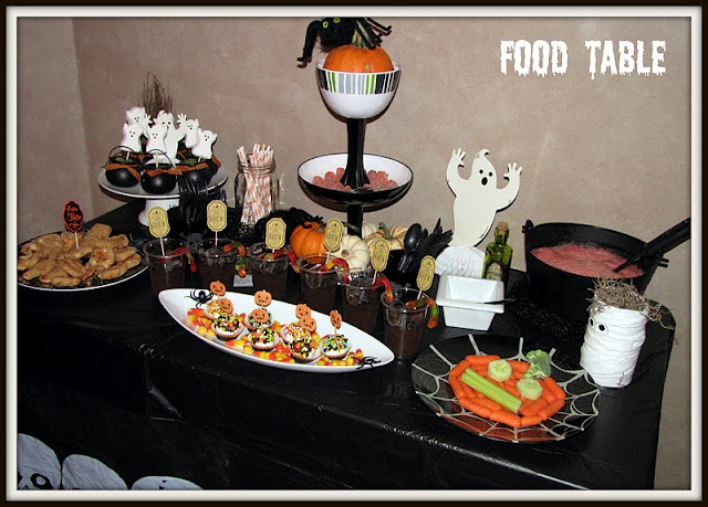 9 best images about s 39 mores party on pinterest crafts for Halloween party food ideas for kids