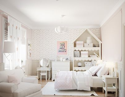 "Check out new work on my @Behance portfolio: ""Children room"" http://on.be.net/1OxmG5M"