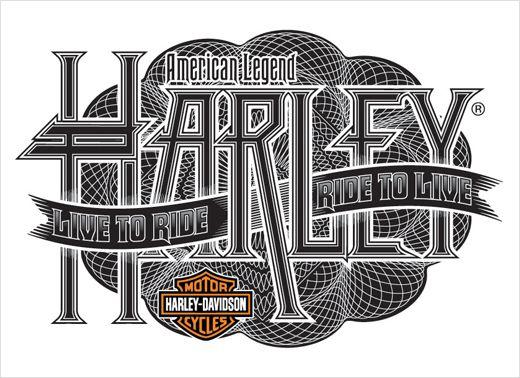 Harley-Davidson-Apparel-Logotype-Typography-Design-Bobby-Haiqalsyah-2