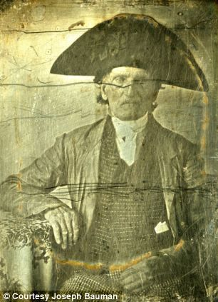 some of the first photographs taken | war for independence the war that established the united states. Captain George Fishley, taken in 1850 when he was 90 years old