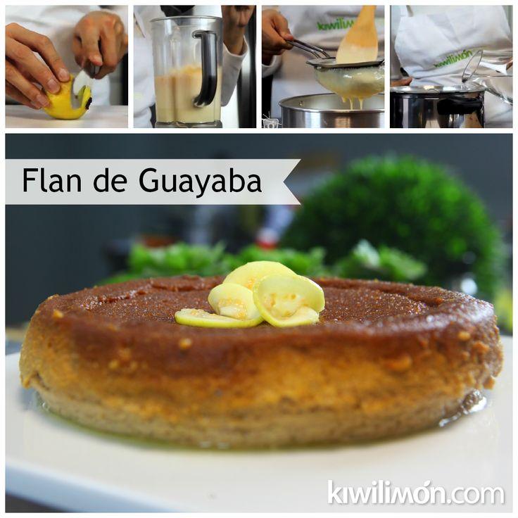 Receta de Flan de Guayaba y Queso Crema