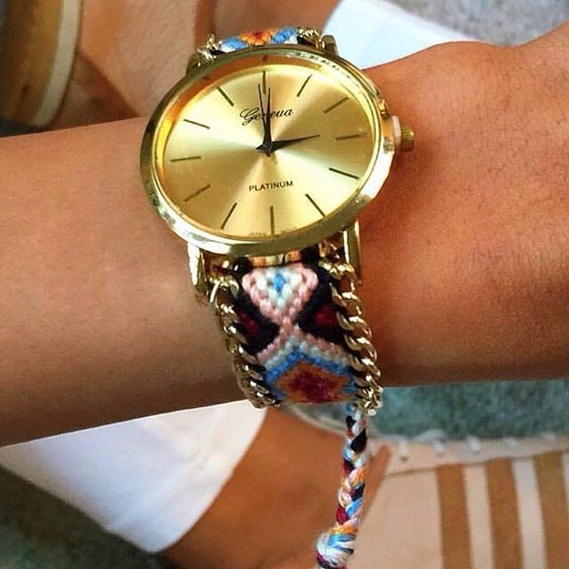 We found this great summer watch via @gogolush What do you think?