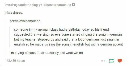 Ah, Germans