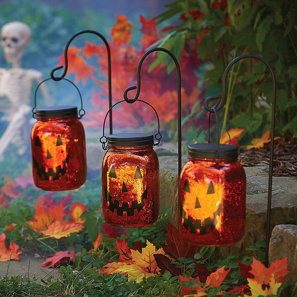Improvements Jack O Lantern Pathway Lighting Halloween Decoration Set Halloween Lights Decorations Outdoor Christmas Decorations Halloween Window Decorations