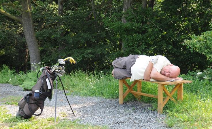 únava z golfu