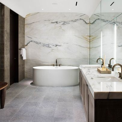 Marble Slab Wall Design Ideas, Pictures, Remodel, and Decor - page 3